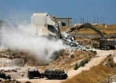 Israel comienza la polémica demolición de casas palestinas cerca de Jerusalén