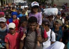 Migrantes toman más riesgos en México en su ruta a EEUU