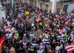 Puerto Rico prepara una gran protesta para este lunes contra el gobernador