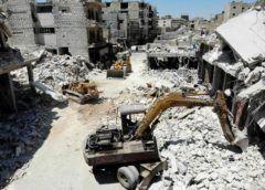 Al menos 19 muertos por un bombardeo ruso en un mercado en Siria