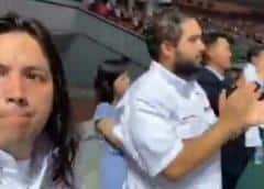 Nicolasito, el hijo de Maduro, viajó a Corea del Norte y fue a un acto oficial