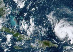 Dorian llegaría a Florida el lunes como un huracán Categoría 4