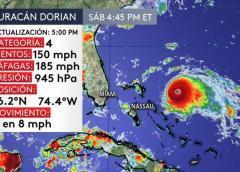 Qué esperamos del huracán Dorian en Florida: Miami-Dade y Broward fuera del cono de trayectoria