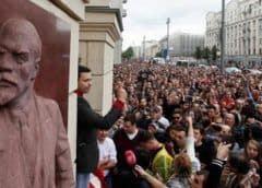 Unos 600 detenidos en Moscú en una nueva protesta por unas elecciones libres