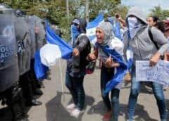 Llaman a paro nacional por tres días en Nicaragua