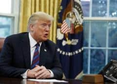 Trump pide al Congreso aprobar ley de revisión de antecedentes para comprar armas
