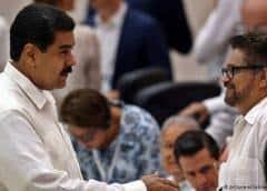 """Comisionado de paz de Colombia denuncia """"claro apoyo"""" de Maduro a disidentes de las FARC"""