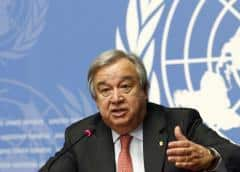 Guterres hablará con Venezuela y Colombia en la ONU para rebajar la tensión