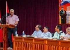 """Superado el primer momento"", asegura Díaz-Canel, pero Cuba sigue ""de barco en barco"""
