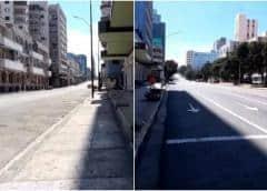 La Habana se quedó el fin de semana como una ciudad fantasma