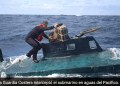 El Servicio Guardacostas detiene submarino que llevaba cocaína valorada en $272 millones