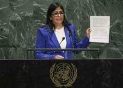 Maduro intentó llenar salón de la ONU con simpatizantes mientras diplomáticos abandonaron el recinto