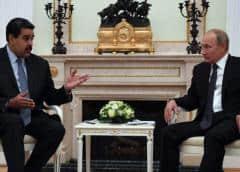 Maduro se reunirá con Putin en Moscú para hablar sobre cooperación