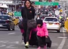 """Canciller colombiano pide """"más ayuda"""" ante la crisis en Venezuela"""