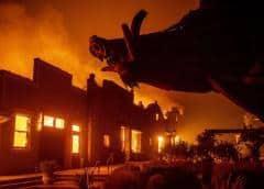 Miles evacuados y millones bajo apagón por incendios en California