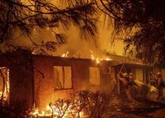 Incendios en California: 'Hay muchísima gente en los albergues'
