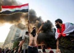 Sube a 46 la cifra de muertos por disturbios en Irak; ayatolá Sistani culpa a políticos por crisis