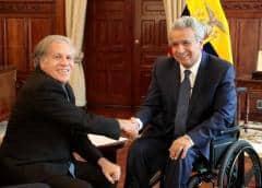 Ministros de seguridad del continente se dan cita en Ecuador