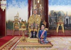Rey de Tailandia despoja a consorte de sus títulos