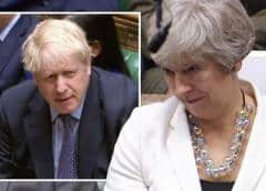 Theresa May defiende y apoya el acuerdo de Boris Johnson para el Brexit