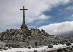 Los restos de Francisco Franco salen del Valle de los Caídos