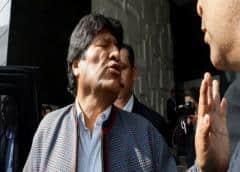 """Bolivia denuncia penalmente a Morales por """"sedición y terrorismo"""""""