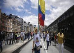 Colombia cierra sus fronteras por huelga nacional