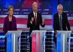 Quinto debate muestra ruptura demócrata por sistema de salud