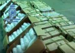 España incauta un alijo récord de droga que iba a Europa