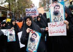 """Irán dice que los """"perturbadores"""" mataron a la gente en las protestas"""