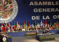 Canciller de Bolivia denuncia en la OEA un golpe de Estado en curso en su país