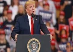 Trump dice que líder demócrata demora votación de TMEC para obtener apoyo a juicio político