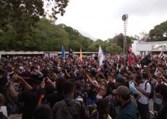 Venezuela: Luego de 5 años el movimiento estudiantil opositor pudo salir de la UCV