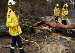 Australia toma un respiro en la crisis de incendios