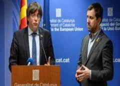 Un tribunal de UE debe reexaminar peticiones de Puigdemont y Comín para ser eurodiputados
