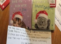 China niega acusaciones de trabajo forzado en cárcel tras mensaje encontrado en tarjeta navideña