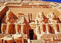 ENFOQUE-Cambio climático amenaza históricos monumentos en Egipto