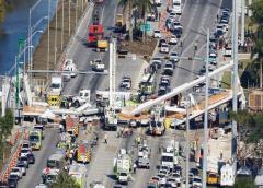 Acuerdan pagar $ 103 millones a familiares y/o heridos de la caída del puente de FIU