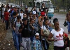 Hondureños convocan a nueva caravana migrante rumbo a EEUU