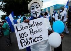 Excarcelan a grupo de opositores presos en Nicaragua