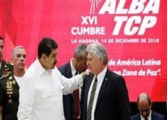 """Bloque izquierdista del ALBA busca """"relanzar"""" cooperación ante sanciones de EEUU"""