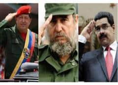 """Los comentarios que le hicieron a Maduro luego de celebrar a sus """"compatriotas"""" Fidel y Chávez"""