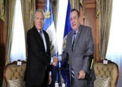 Presidente de Guatemala rompe relaciones con gobierno en disputa de Venezuela