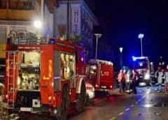 Auto atropella a jóvenes turistas alemanes en Italia today