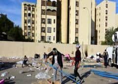 La Embajada de EE. UU. en Bagdad suspende su actividad hasta nuevo aviso