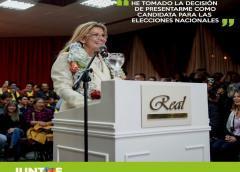 Jeanine Áñez hace oficial su candidatura a la presidencia de Bolivia