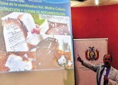 Bolivia halla a funcionarios cubanos quemando títulos falsos de doctor en Medicina