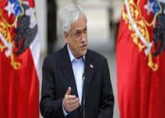 Chile: El Frente Amplio denuncia a Piñera por presuntos delitos de lesa humanidad