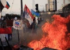 Nueva jornada de violencia en Chile tras muerte de aficionado al fútbol