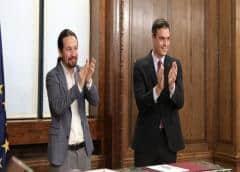 Socialista Sánchez es elegido como presidente de España